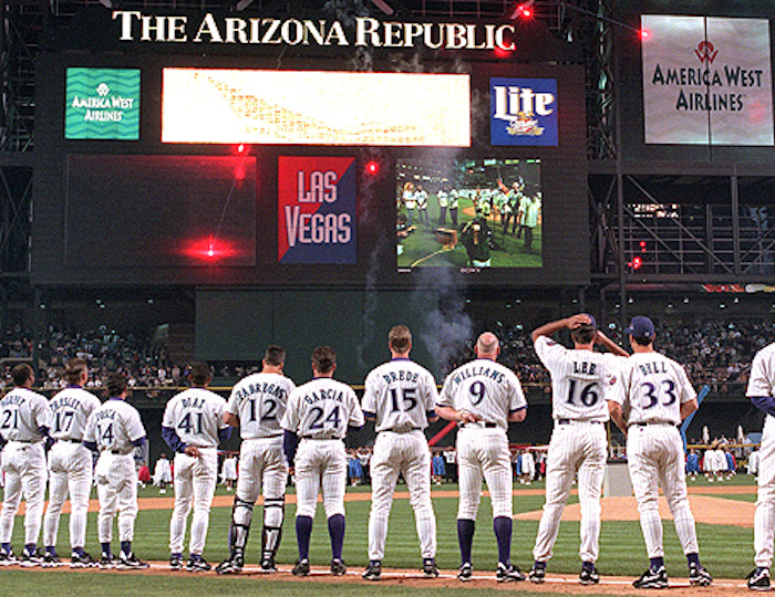 Image result for 1998 D'BACKS OPENING DAY